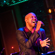 December 4, 2012 - New York, NY : Actor and singer Darius de Haas performs at the nightclub 54 Below in Manhattan on Tuesday evening. CREDIT: Karsten Moran for The New York Times