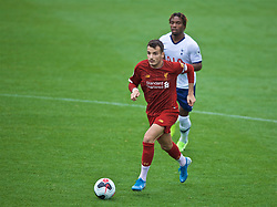 KIRKBY, ENGLAND - Saturday, August 10, 2019: Liverpool's captain Pedro Chirivella during the Under-23 FA Premier League 2 Division 1 match between Liverpool FC and Tottenham Hotspur FC at the Academy. (Pic by David Rawcliffe/Propaganda)