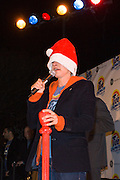 Tide Coldwater and New Orleans native Ellen DeGeneres turn on the holiday lights in Jackson Square.
