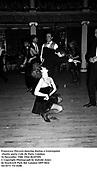 Francesca Thyssen dancing during a Centrepoint charity party. Cafe de Paris, London. 16 December 1986.<br />© Copyright Photograph by Dafydd Jones<br />66 Stockwell Park Rd. London SW9 0DA<br />Tel 0171 733 0108