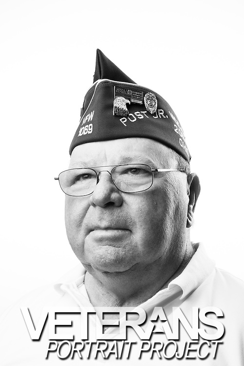 Don N. Abbott<br /> Marine Corps<br /> E-4<br /> Field Radio Operator<br /> 1968-1969<br /> Vietnam<br /> <br /> Veterans Portrait Project<br /> Louisville, KY<br /> VFW Convention <br /> (Photos by Stacy L. Pearsall)