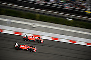 October 8-11, 2015: Russian GP 2015: Sebastian Vettel (GER), Ferrari, Kimi Raikkonen (FIN), Ferrari