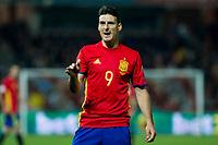 Spain's Aritz Aduriz during the match of European qualifying round between Spain and Macedonia at Nuevo Los Carmenes Stadium in Granada, Spain. November 12, 2016. (ALTERPHOTOS/Rodrigo Jimenez)