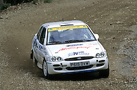 Mobil 1/RAC British Rally Championship 1997. RSAC Scottish Rally. Philip Young / Robbie Philpott. Team Ford Ireland/McNeill & McManus Glas. Ford Escort RS2000. World Copyright: Peter Taylor/PSP. Copy of publication required for printed pictures. Every used picture is fee-liable..