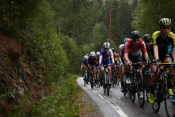 Lauren Kitchen (AUS) in the bunch at Ladies Tour of Norway 2018 Stage 2, a 127.7 km road race from Fredrikstad to Sarpsborg, Norway on August 18, 2018. Photo by Sean Robinson/velofocus.com