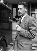 29/7/1952<br /> 7/29/1952<br /> 29th July 1952 Mr, Philip Greene the RTE Sports Commentator