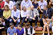 DESCRIZIONE : Trieste Nazionale Italia Uomini Torneo internazionale Italia Canada Italy Canada<br /> GIOCATORE : Gianni Giovanni Petrucci Giovanni Adami<br /> CATEGORIA : Tifosi Vip<br /> SQUADRA : Italia Italy<br /> EVENTO : Torneo Internazionale Trieste<br /> GARA : Italia Canada Italy Canada<br /> DATA : 03/08/2014<br /> SPORT : Pallacanestro<br /> AUTORE : Agenzia Ciamillo-Castoria/Max.Ceretti<br /> Galleria : FIP Nazionali 2014<br /> Fotonotizia : Trieste Nazionale Italia Uomini Torneo internazionale Italia Canada Italy Canada