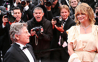 Roman Polanski, Director and  Nastassja Kinski, actress, arriving at the Vous N'Avez Encore Rien Vu gala screening at the 65th Cannes Film Festival France. Monday 21st May 2012 in Cannes Film Festival, France.
