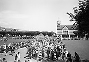 09/08/1967<br /> 08/09/1967<br /> 09 August 1967<br /> R.D.S. Horse Show 2nd day at Balls bridge, Dublin. A general view of the Horse Show grounds.