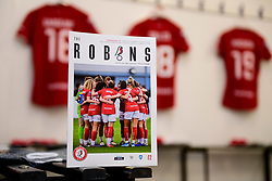 General views of the changing rooms prior to kick off - Mandatory by-line: Ryan Hiscott/JMP - 08/12/2019 - FOOTBALL - Stoke Gifford Stadium - Bristol, England - Bristol City Women v Birmingham City Women - Barclays FA Women's Super League