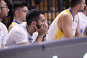 Delusione sconfitta Capo D'Orlando, VANOLI CREMONA vs BETALAND CAPO D'ORLANDO, 30^ Campionato Lega Basket Serie A 2017/2018, PalaRadi Cremona 9 maggio 2018 - FOTO: Bertani/Ciamillo