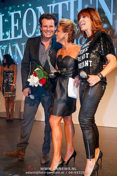 NLD/Amsterdam/20121112 - Beau Monde Awards 2012, Leco Zadelhoff, Leontien Zijlaard - van Moorsel en Leontien Borsato - Ruiters