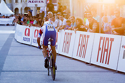 Dmitry Sokolov (RUS) of Lokosphinx competes during Stage 1of  cycling race 20th Tour de Slovenie 2013 - Time Trial 8,8 km in Ljubljana,  on June 12, 2013 in Slovenia. (Photo By Vid Ponikvar / Sportida)