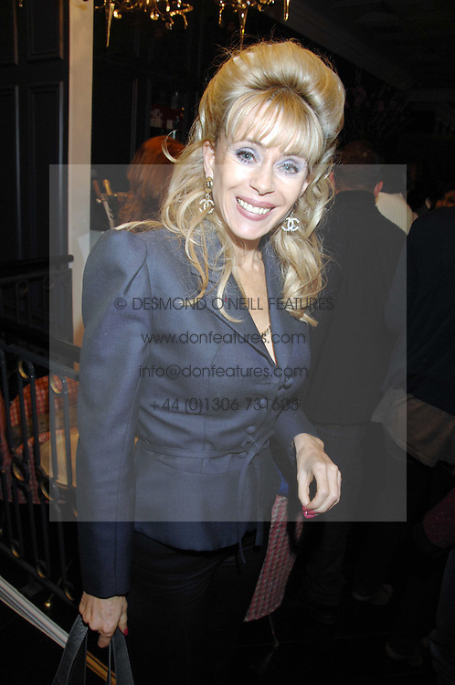 SALLY FARMILOE at the opening party of hairdresser Paul Edmond's new salon at 217 Brompton Road, London SW3 on 18th March 2008.<br /><br />NON EXCLUSIVE - WORLD RIGHTS