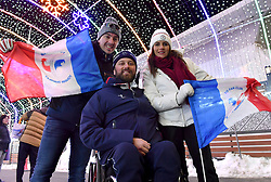 Les Coulisses, Behind the scenes, TABERLET_Yohann at PyeongChang2018 Winter Paralympic Games, South Korea.