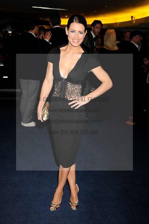 KIRSTY GALLAGHER at the GQ Men of the Year Awards held at the Royal Opera House, London on 2nd September 2008.<br /> <br /> NON EXCLUSIVE - WORLD RIGHTS