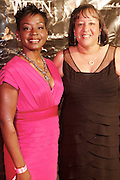 """Lynn Richardson and Lori Jones Gibbs at The launch of the Women in Entertainment Empowerment Network's (WEEN) """"Don't Judge Me...EmPower Me"""" national tour, where entertainment icons and executives will participate with thousands of young adults in intimate, interactive panel discussions held at the Hammerstein Ballroom on June 28, 2008..Topics include health; financial literacy, hosted by Genworth Financial; leadership and career development, hosted by Interpublic Group (IPG) and relationships, hosted by BET Networks.."""