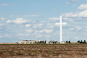 A nineteen story cross in Groom, Texas along Route 66. Missoula Photographer