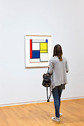 Piet Mondrian oil on canvas 1927 'COMPOSITION NO. 111 WITH RED YELLOW AND BLUE' 20th Century Gallery, Rijksmuseum, Amsterdam
