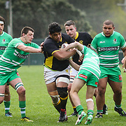 Rugby union game played between Wellington Under-19 v Manawatu Under-19 , at  Jerry Collins Park,Porirua,Wellington, New Zealand, on 2 September 2017.   Game won 15-7 by Wellington