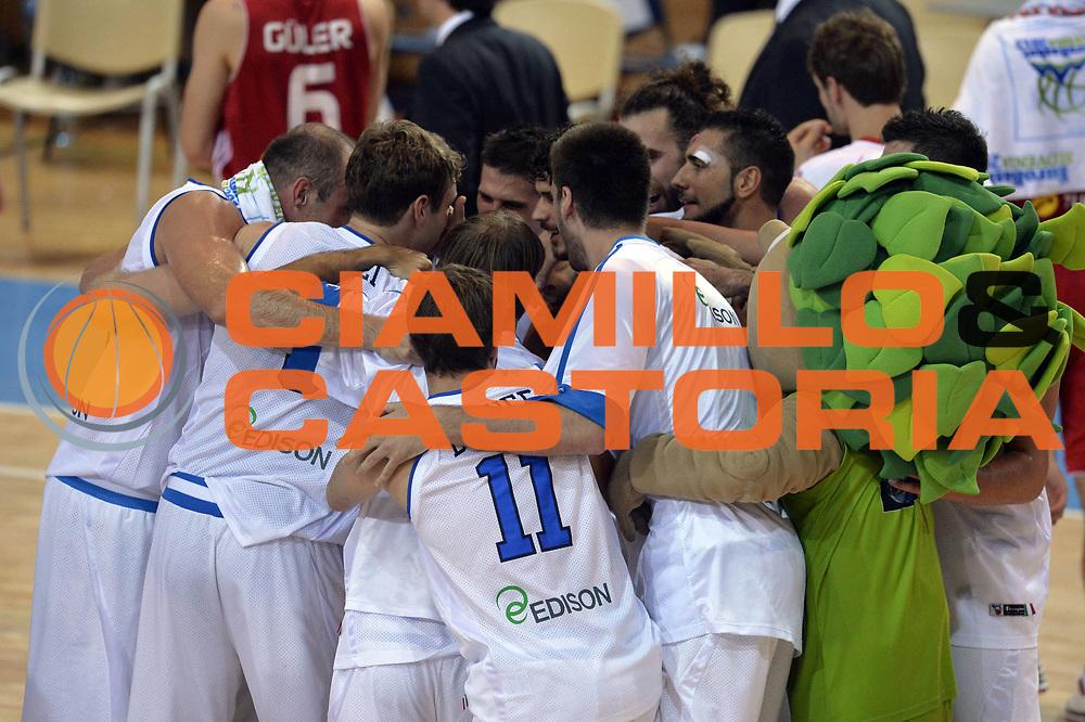 DESCRIZIONE : Capodistria Koper Slovenia Eurobasket Men 2013 Preliminary Round Italia Turchia Italy Turkey<br /> GIOCATORE : Team<br /> CATEGORIA : Esultanza<br /> SQUADRA : Italia<br /> EVENTO : Eurobasket Men 2013<br /> GARA : Italia Turchia Italy Turkey<br /> DATA : 05/09/2013<br /> SPORT : Pallacanestro&nbsp;<br /> AUTORE : Agenzia Ciamillo-Castoria/GiulioCiamillo<br /> Galleria : Eurobasket Men 2013 <br /> Fotonotizia : Capodistria Koper Slovenia Eurobasket Men 2013 Preliminary Round Italia Turchia Italy Turkey<br /> Predefinita :