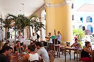 Restaurante El Santo Angel, Havana Vieja, Cuba.