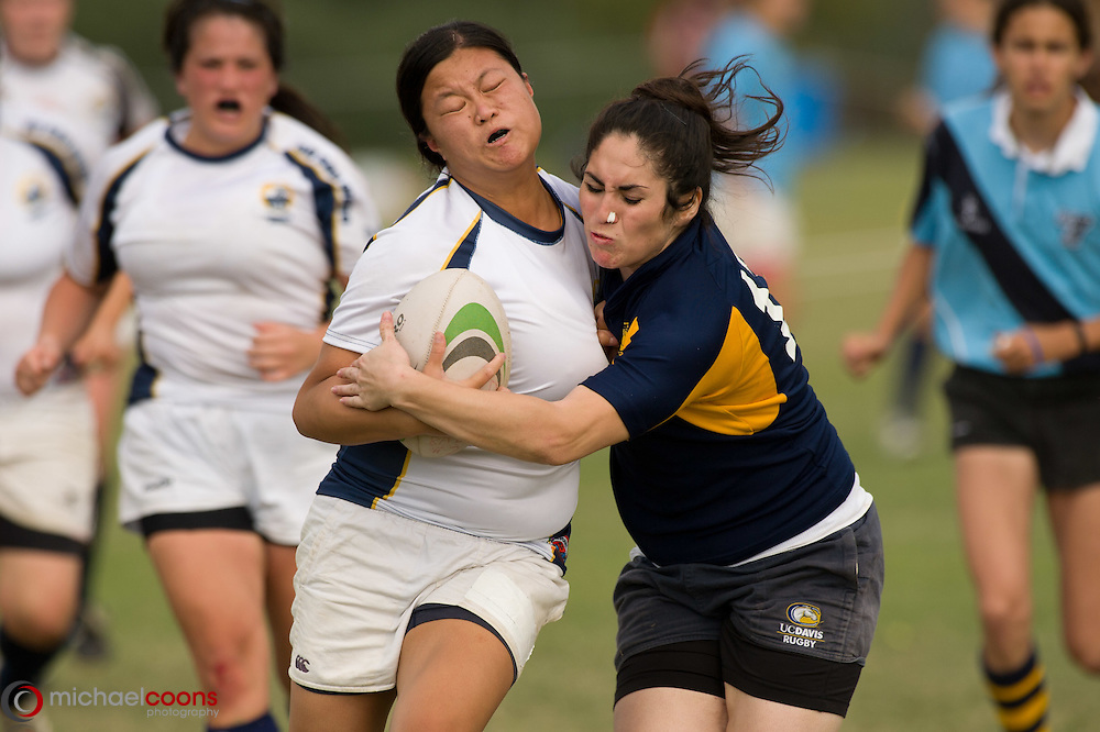 UC Davis vs UCSD (Scrum by the Sea 2010)