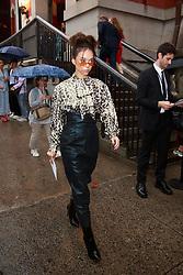 September 13, 2018 - New York, New York, United States - Celebrity/fashionista at New York Fashion Week, Michael Kors Backstage  (Credit Image: © Oleg Chebotarev/NurPhoto/ZUMA Press)