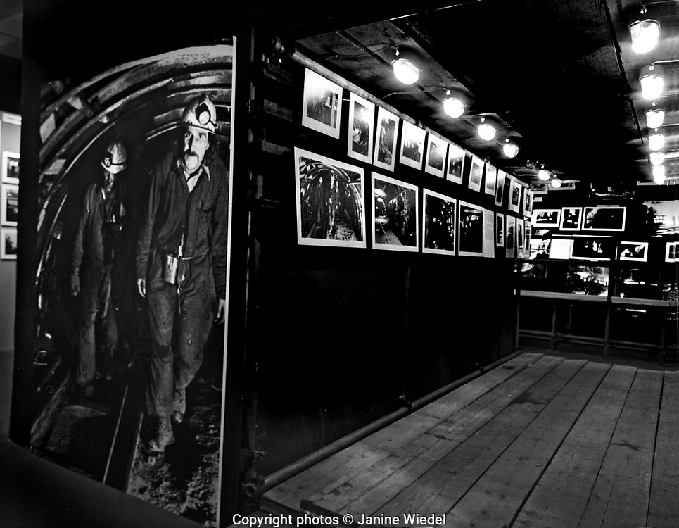 Vulcan's Forge Installation Exhibition by Janine Wiedel at Photographer's Gallery London 1979