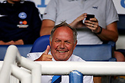 Peterborough United Director of Football Barry Fry with the thumbs up before the Pre-Season Friendly match between Peterborough United and Bolton Wanderers at London Road, Peterborough, England on 28 July 2018. Picture by Nigel Cole.