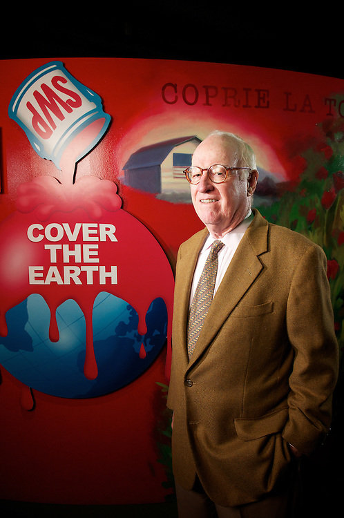 Jack Breen, former CEO of Sherwin-Williams at the companie's downtown Cleveland offices on Monday, May 3, 2010.