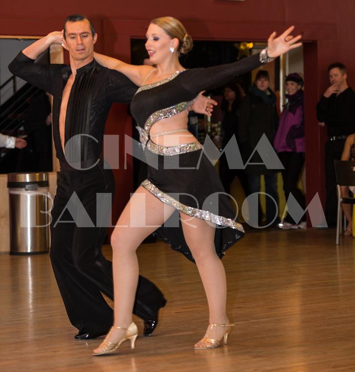 American Rhythm Dustin and Julia Lattner