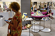 Milan, Look down generation, shopping at the Rinascente mall