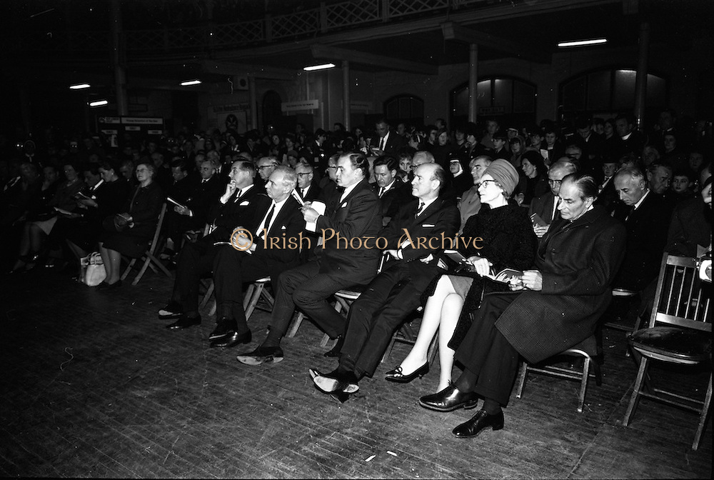 04/01/1967.01/04/1967.4th January 1967 .The third annual Aer Lingus Young Scientist Exhibition at the RDS..Crowd at the Young Scientist Exhibition in the RDS...