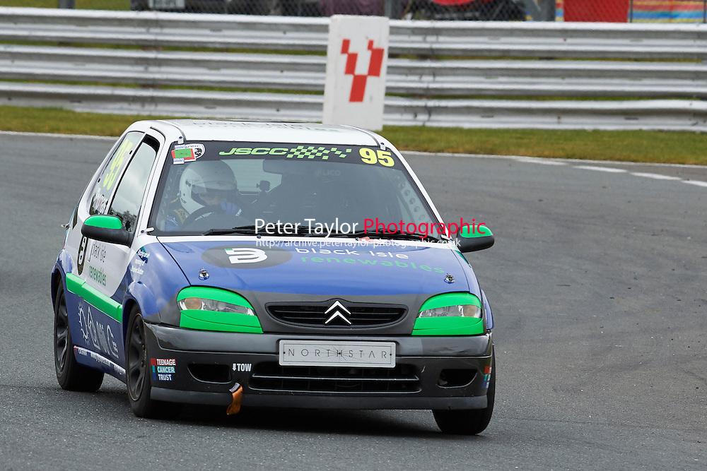 #95 Sean THOMAS Citroen Saxo VTR 1600 during Junior Saloon Car Championship as part of the BARC NW - Championship Raceday  at Oulton Park, Little Budworth, Cheshire, United Kingdom. March 19 2016. World Copyright Peter Taylor/PSP. Copy of publication required for printed pictures.  Every used picture is fee-liable. http://archive.petertaylor-photographic.co.uk