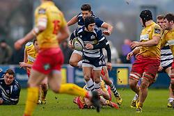 Bristol Rugby Fly-Half Matthew Morgan - Mandatory byline: Rogan Thomson/JMP - 17/01/2016 - RUGBY UNION - Clifton Rugby Club - Bristol, England - Scarlets Premiership Select XV v Bristol Rugby - B&I Cup.
