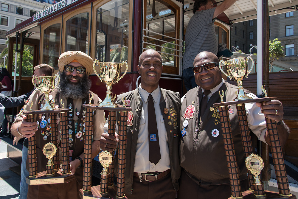 54th Annual Cable Car Bell Ringing Contest Champions | July 13, 2017