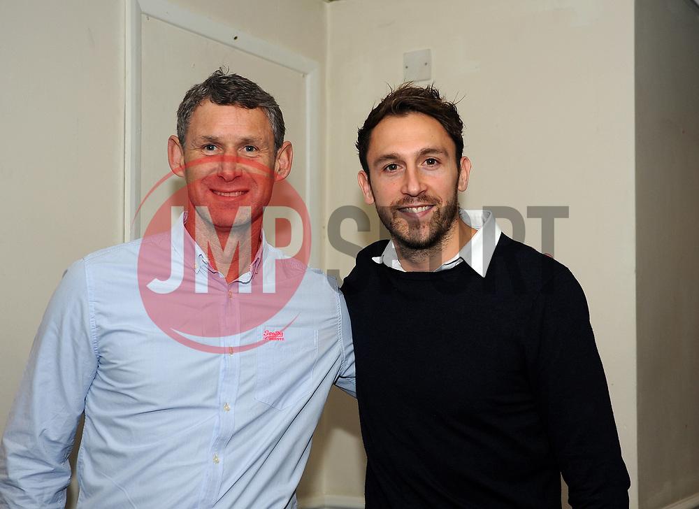 Billy Clarke and David Gilroy - Mandatory by-line: Neil Brookman/JMP - 18/11/2017 - FOOTBALL - Memorial Stadium - Bristol, England - Bristol Rovers v AFC Wimbledon - Sky Bet League One