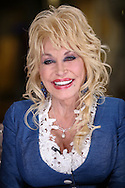 "Staff Photo by Dan Henry / The Chattanooga Times Free Press- 3/24/16. Dolly Parton performs one on one interviews to announce her new album ""Pure and Simple"" and new wooden roller coaster while at Dollywood in Pigeon Forge, TN, on March 24, 2016."