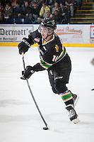 KELOWNA, CANADA - JANUARY 26: Josh Morrissey #10 of the Prince Albert Raiders skates on the ice at the Kelowna Rockets on January 26, 2013 at Prospera Place in Kelowna, British Columbia, Canada (Photo by Marissa Baecker/Shoot the Breeze) *** Local Caption ***