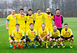 TFC Team prior to the friendly football match between NK Fantazisti (SLO) and 1st TFC - First Tennis & Football Club (AUT) presented by professional and former tennis players, on November 25, 2017 in Nacionalni nogometni center Brdo pri Kranju, Slovenia. Photo by Vid Ponikvar / Sportida