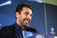 02.05.2017 - Conferenza stampa e sopralluogo di  vigilia di Monaco-Juventus, Champions League    Nella foto:  Gianluigi Buffon