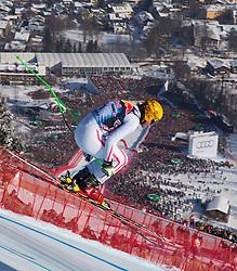 26.01.2013, Streif, Kitzbuehel, AUT, FIS Weltcup Ski Alpin, Abfahrt, Herren, im Bild Max Franz (AUT) // Max Franz of Austria in action during mens Downhill of the FIS Ski Alpine World Cup at the Streif course, Kitzbuehel, Austria on 2013/01/26. EXPA Pictures © 2013, PhotoCredit: EXPA/ Johann Groder