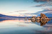 Morning calm on Mono Lake, California