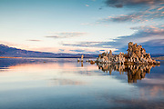 Morning calm on Mono Lake, California