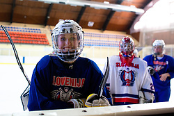 Pia Pren at practice of Slovenian Women National Ice Hockey Team for World Championship Division II Group B in Iceland on March 20, 2014 in Ledna dvorana, Bled, Slovenia. Photo by Matic Klansek Velej / Sportida