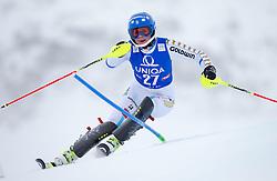 29.12.2014, Hohe Mut, Kühtai, AUT, FIS Ski Weltcup, Kühtai, Slalom, Damen, 1. Durchgang, im Bild Nathalie Eklund (SWE) // Nathalie Eklund of Sweden in action during 1st run of Ladies Slalom of the Kuehtai FIS Ski Alpine World Cup at the Hohe Mut Course in Kuehtai, Austria on 2014/12/29. EXPA Pictures © 2014, PhotoCredit: EXPA/ JFK