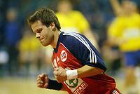 Håndball, 2. januar 2003, EM kvalifisering herrer, Norge - Romania. Marius Riise , Norge