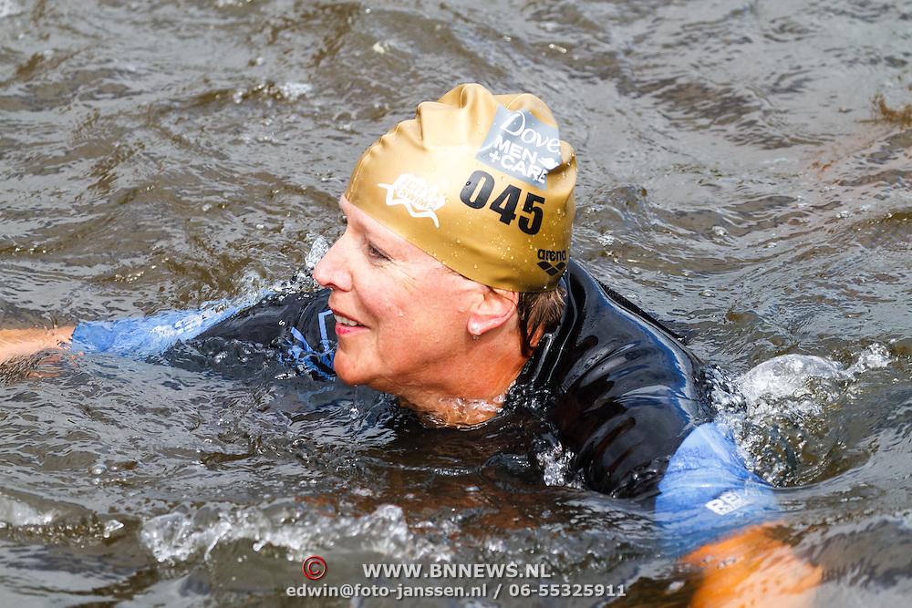 NLD/Amsterdam/20150906 - Amsterdam City Swim 2015, 45Marjet v.d. Kroon