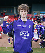 Scorer of the winning goal Scott Gardiner shows off his medal Dundee Argyle win the Scottish Sunday Trophy beating Bullfrog in the final at Forthbank, Stirling<br /> <br /> <br />  - &copy; David Young - www.davidyoungphoto.co.uk - email: davidyoungphoto@gmail.com